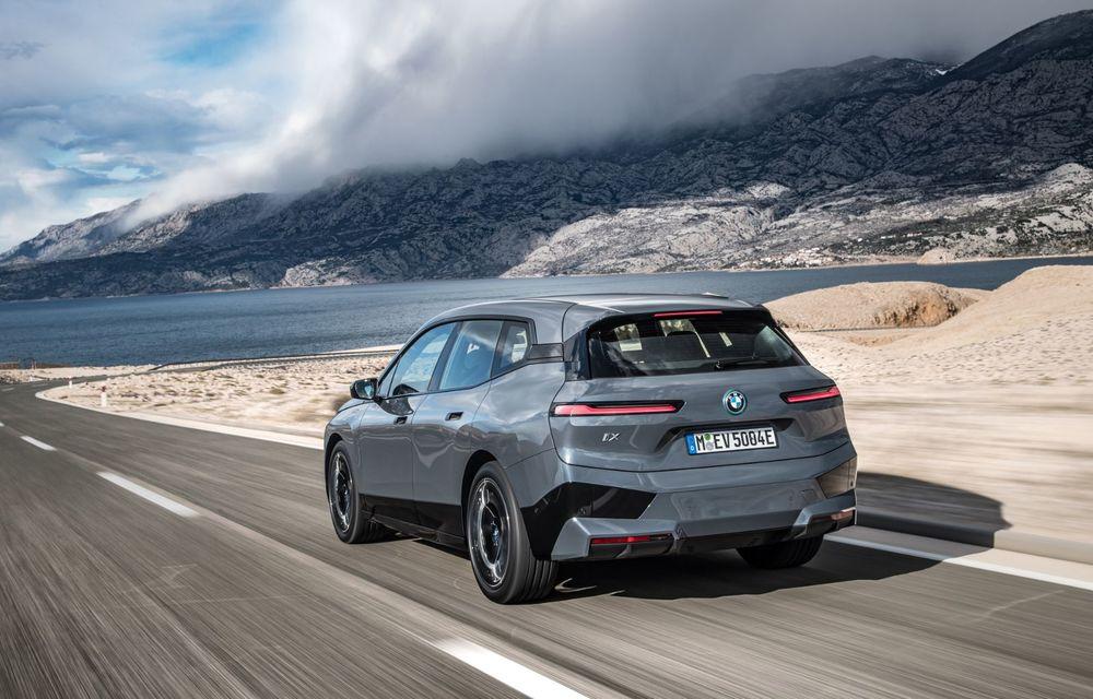 BMW iX în detaliu: până la 523 de cai putere și 630 de kilometri autonomie maximă - Poza 10