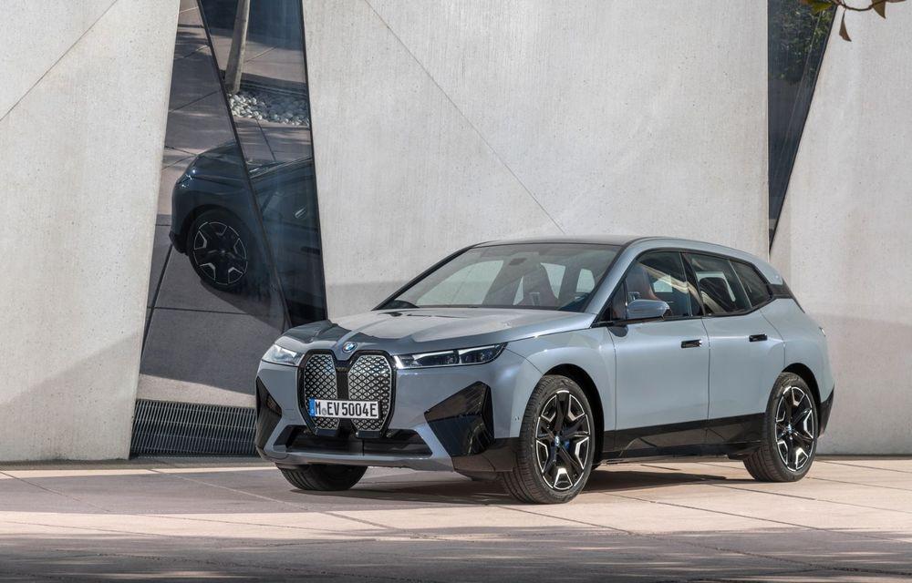 BMW iX în detaliu: până la 523 de cai putere și 630 de kilometri autonomie maximă - Poza 8