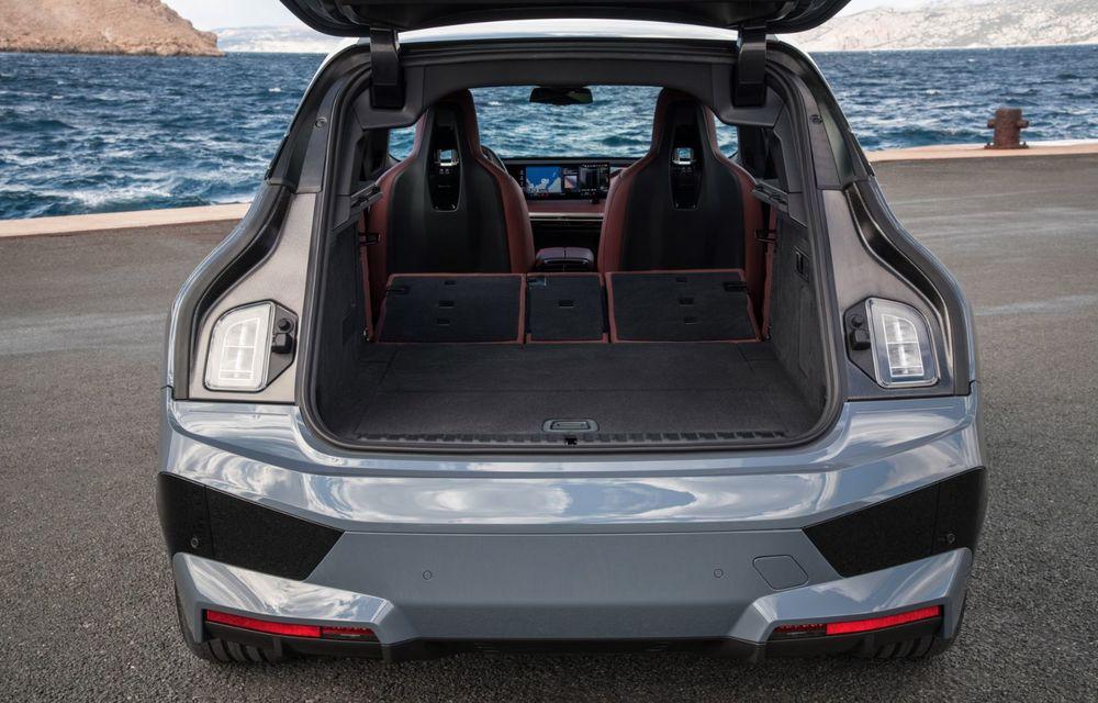 BMW iX în detaliu: până la 523 de cai putere și 630 de kilometri autonomie maximă - Poza 12