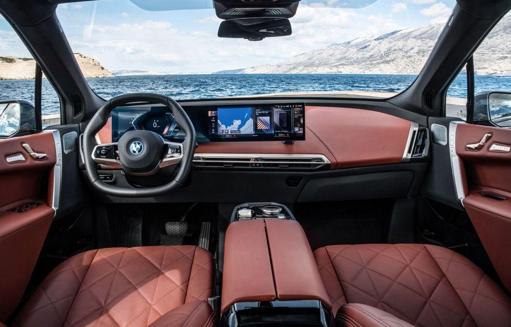 BMW iX în detaliu: până la 523 de cai putere și 630 de kilometri autonomie maximă - Poza 14