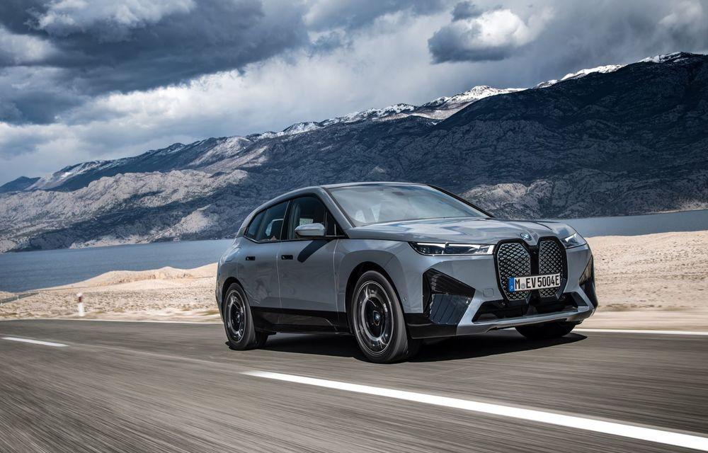 BMW iX în detaliu: până la 523 de cai putere și 630 de kilometri autonomie maximă - Poza 7
