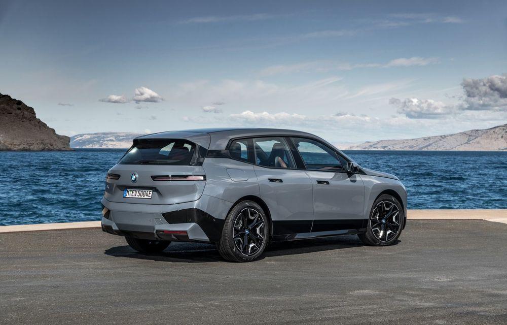 BMW iX în detaliu: până la 523 de cai putere și 630 de kilometri autonomie maximă - Poza 5