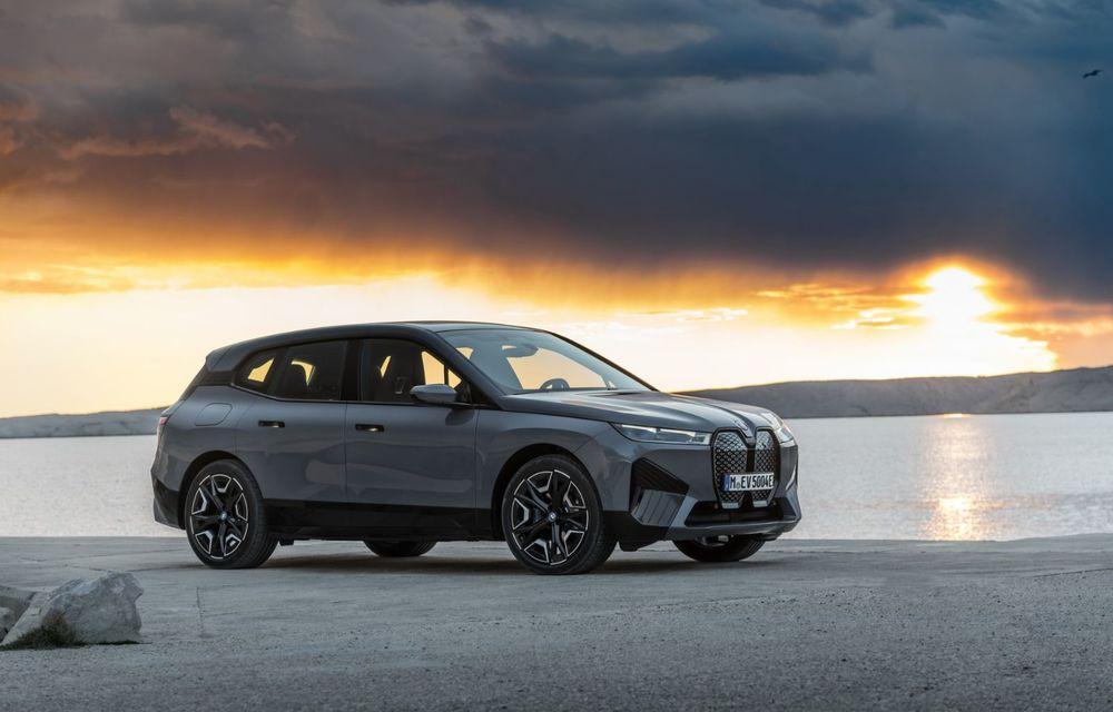BMW iX în detaliu: până la 523 de cai putere și 630 de kilometri autonomie maximă - Poza 6