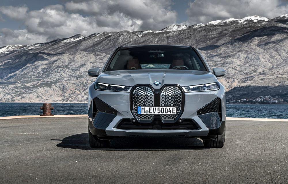 BMW iX în detaliu: până la 523 de cai putere și 630 de kilometri autonomie maximă - Poza 4