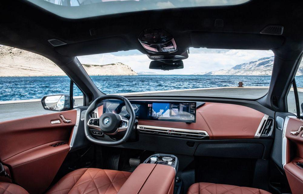 BMW iX în detaliu: până la 523 de cai putere și 630 de kilometri autonomie maximă - Poza 15
