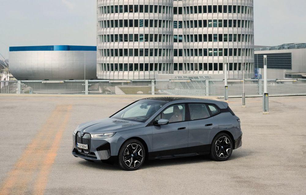 BMW iX în detaliu: până la 523 de cai putere și 630 de kilometri autonomie maximă - Poza 1