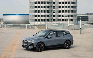 BMW iX în detaliu: până la 523 de cai putere și 630 de kilometri autonomie maximă