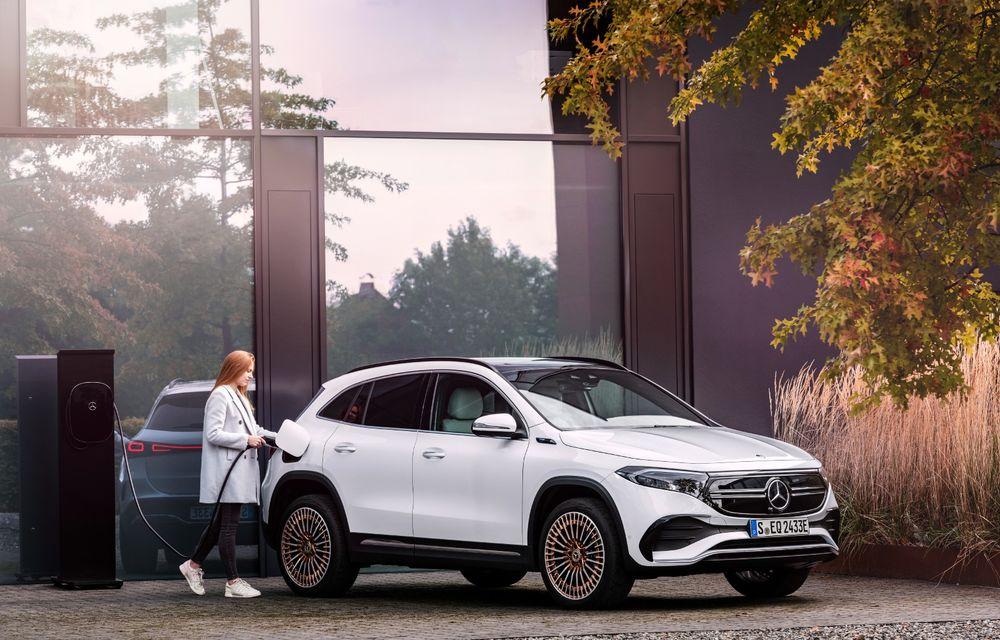 """Mașinile din """"Aventour la feminin"""" by Textar: Mercedes-Benz EQA, cel mai mic SUV electric al nemților, promite multă tehnologie - Poza 3"""