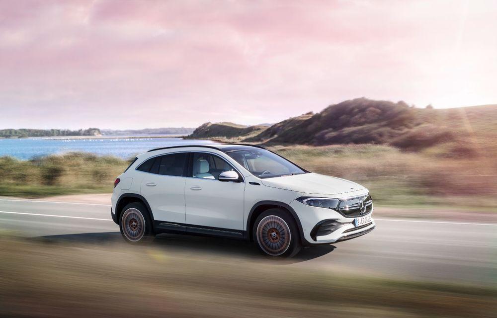 """Mașinile din """"Aventour la feminin"""" by Textar: Mercedes-Benz EQA, cel mai mic SUV electric al nemților, promite multă tehnologie - Poza 18"""