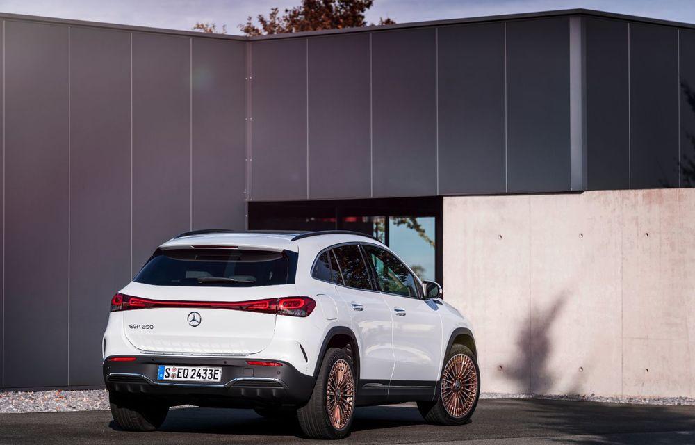 """Mașinile din """"Aventour la feminin"""" by Textar: Mercedes-Benz EQA, cel mai mic SUV electric al nemților, promite multă tehnologie - Poza 15"""