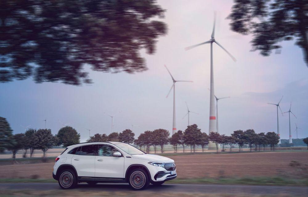 """Mașinile din """"Aventour la feminin"""" by Textar: Mercedes-Benz EQA, cel mai mic SUV electric al nemților, promite multă tehnologie - Poza 13"""