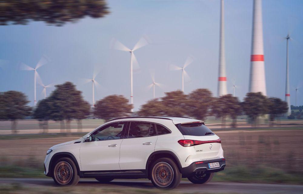 """Mașinile din """"Aventour la feminin"""" by Textar: Mercedes-Benz EQA, cel mai mic SUV electric al nemților, promite multă tehnologie - Poza 6"""