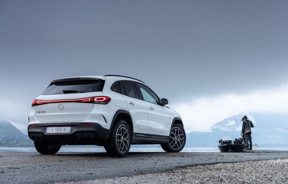 """Mașinile din """"Aventour la feminin"""" by Textar: Mercedes-Benz EQA, cel mai mic SUV electric al nemților, promite multă tehnologie - Poza 5"""
