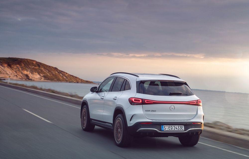 """Mașinile din """"Aventour la feminin"""" by Textar: Mercedes-Benz EQA, cel mai mic SUV electric al nemților, promite multă tehnologie - Poza 10"""
