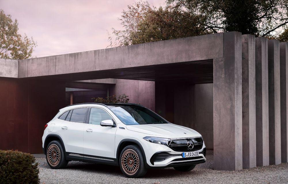 """Mașinile din """"Aventour la feminin"""" by Textar: Mercedes-Benz EQA, cel mai mic SUV electric al nemților, promite multă tehnologie - Poza 7"""