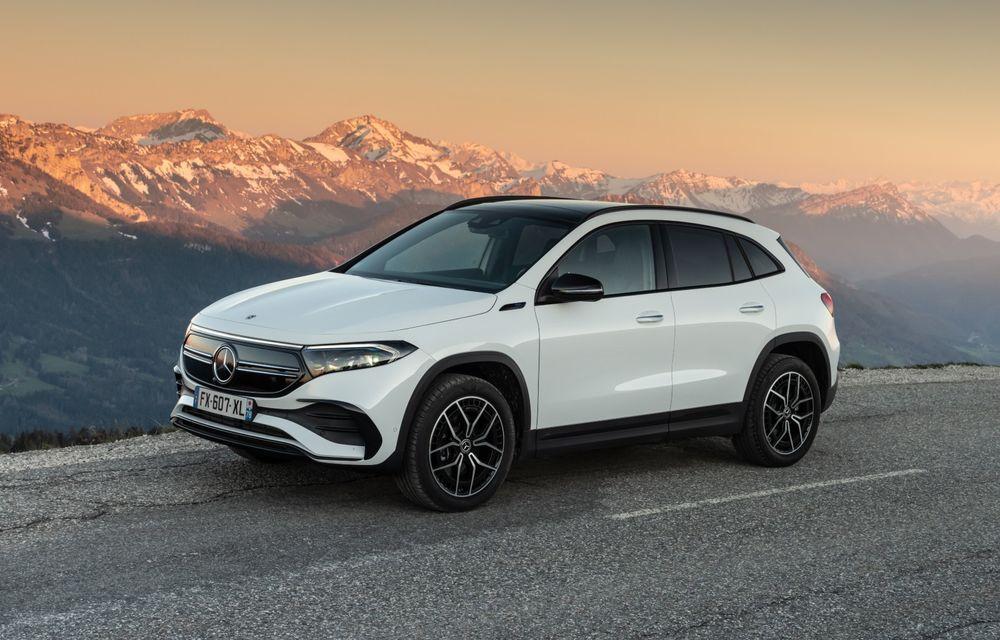 """Mașinile din """"Aventour la feminin"""" by Textar: Mercedes-Benz EQA, cel mai mic SUV electric al nemților, promite multă tehnologie - Poza 1"""