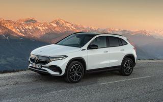 """Mașinile din """"Aventour la feminin"""" by Textar: Mercedes-Benz EQA, cel mai mic SUV electric al nemților, promite multă tehnologie"""