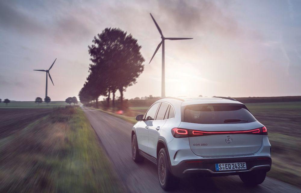 """Mașinile din """"Aventour la feminin"""" by Textar: Mercedes-Benz EQA, cel mai mic SUV electric al nemților, promite multă tehnologie - Poza 8"""