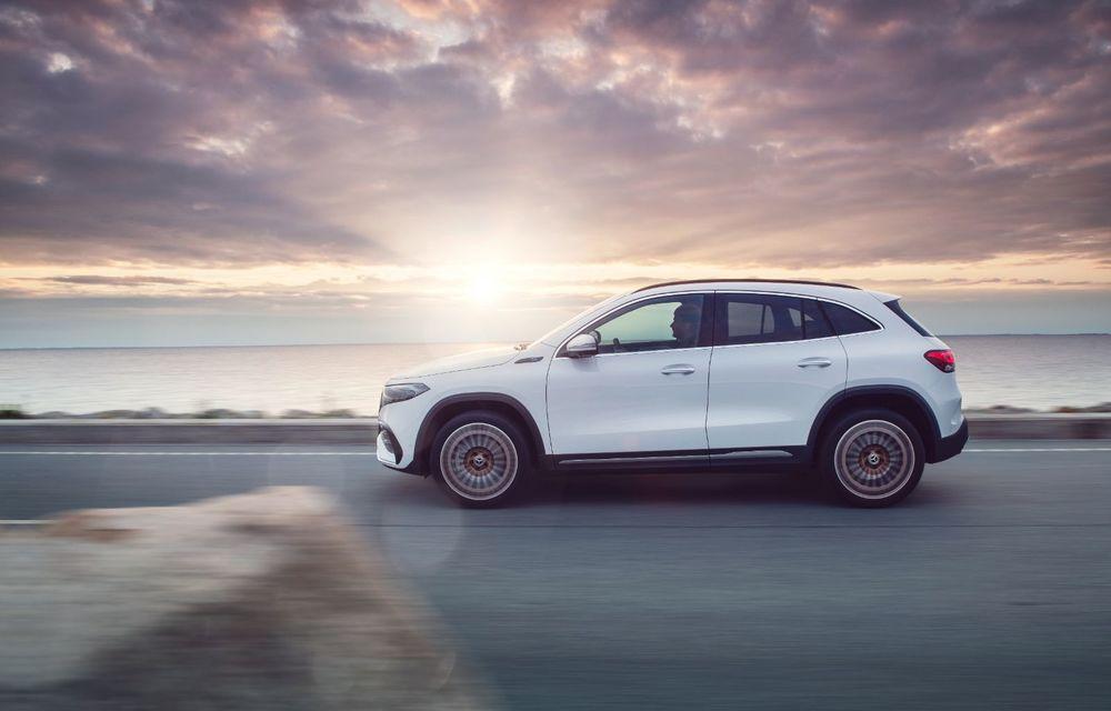 """Mașinile din """"Aventour la feminin"""" by Textar: Mercedes-Benz EQA, cel mai mic SUV electric al nemților, promite multă tehnologie - Poza 9"""