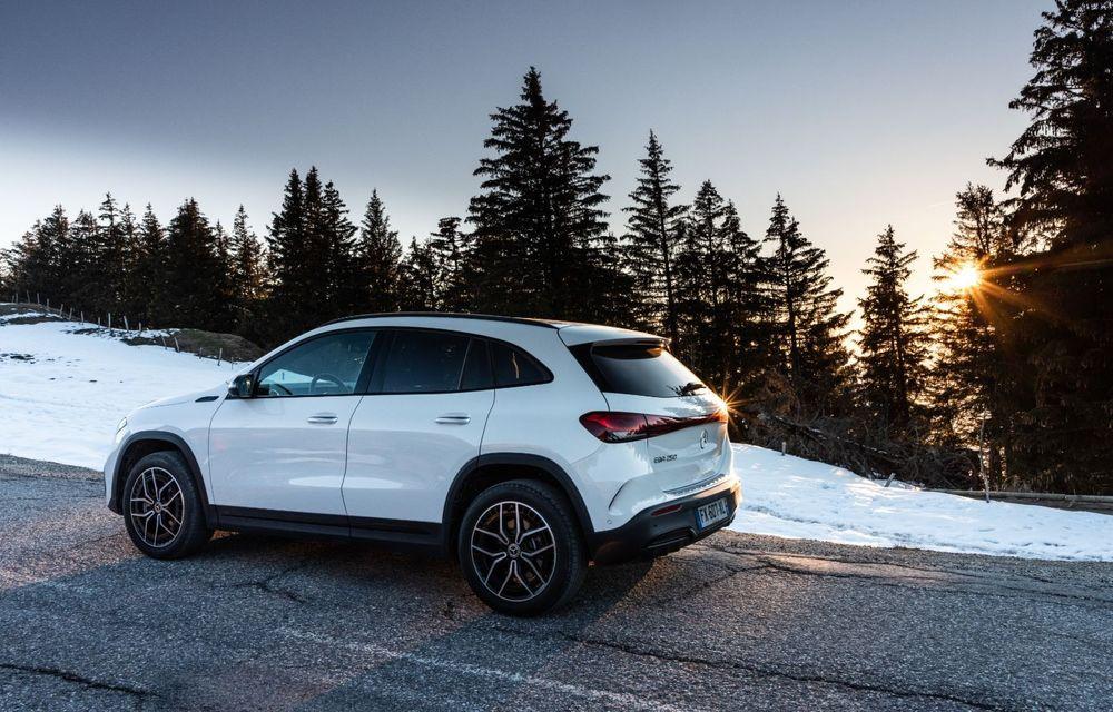 """Mașinile din """"Aventour la feminin"""" by Textar: Mercedes-Benz EQA, cel mai mic SUV electric al nemților, promite multă tehnologie - Poza 4"""