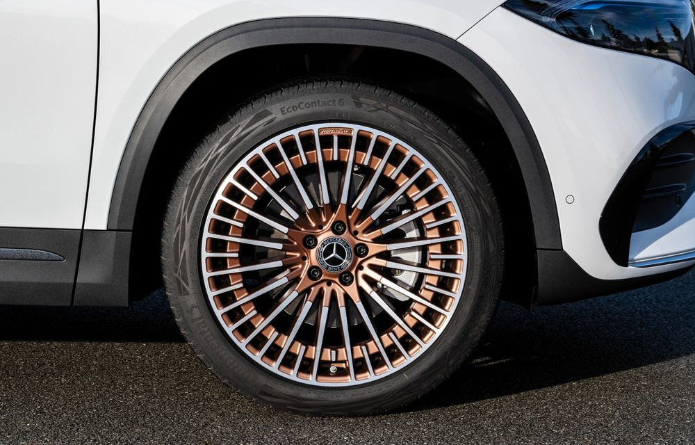 """Mașinile din """"Aventour la feminin"""" by Textar: Mercedes-Benz EQA, cel mai mic SUV electric al nemților, promite multă tehnologie - Poza 12"""
