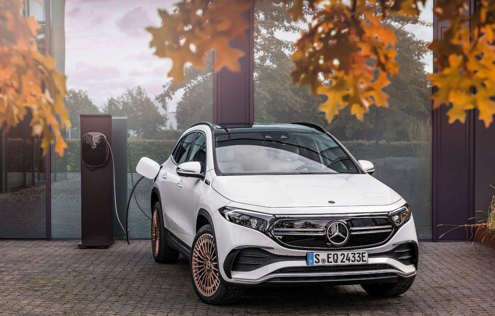 """Mașinile din """"Aventour la feminin"""" by Textar: Mercedes-Benz EQA, cel mai mic SUV electric al nemților, promite multă tehnologie - Poza 16"""