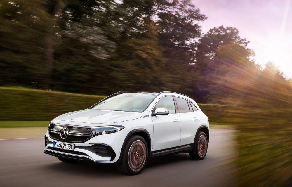 """Mașinile din """"Aventour la feminin"""" by Textar: Mercedes-Benz EQA, cel mai mic SUV electric al nemților, promite multă tehnologie - Poza 17"""