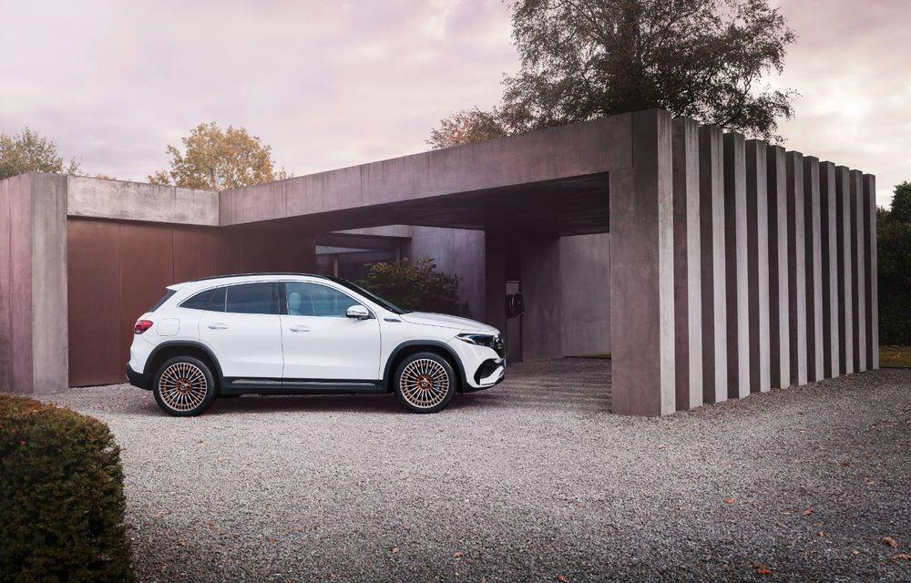 """Mașinile din """"Aventour la feminin"""" by Textar: Mercedes-Benz EQA, cel mai mic SUV electric al nemților, promite multă tehnologie - Poza 14"""