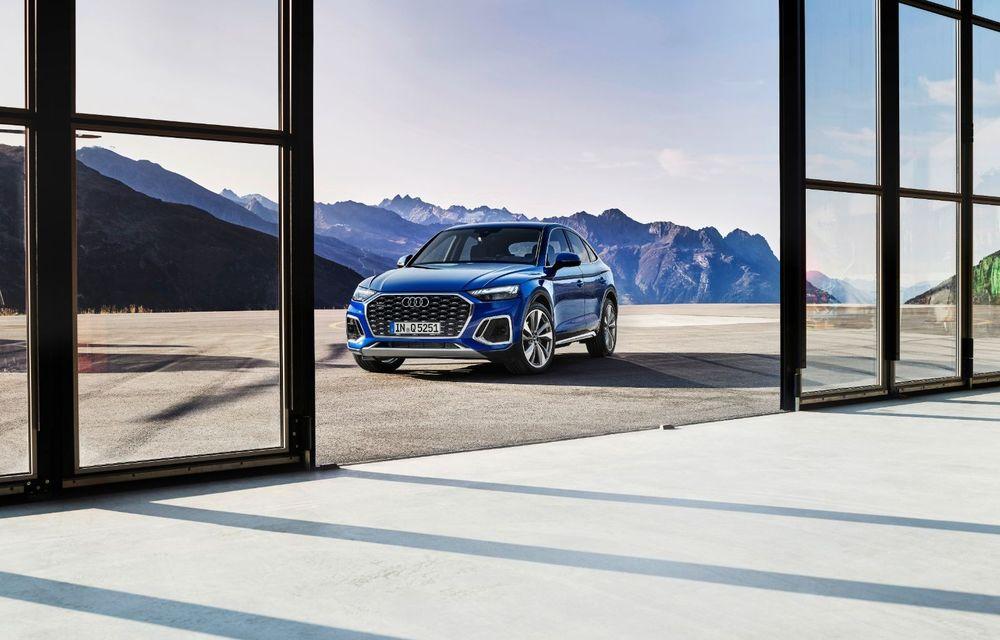 """Mașinile din """"Aventour la feminin"""" by Textar: Audi Q5 Sportback, rețeta SUV-ului premium devine acum mai curajoasă - Poza 3"""