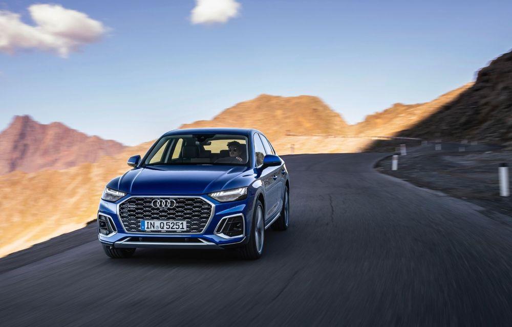"""Mașinile din """"Aventour la feminin"""" by Textar: Audi Q5 Sportback, rețeta SUV-ului premium devine acum mai curajoasă - Poza 2"""