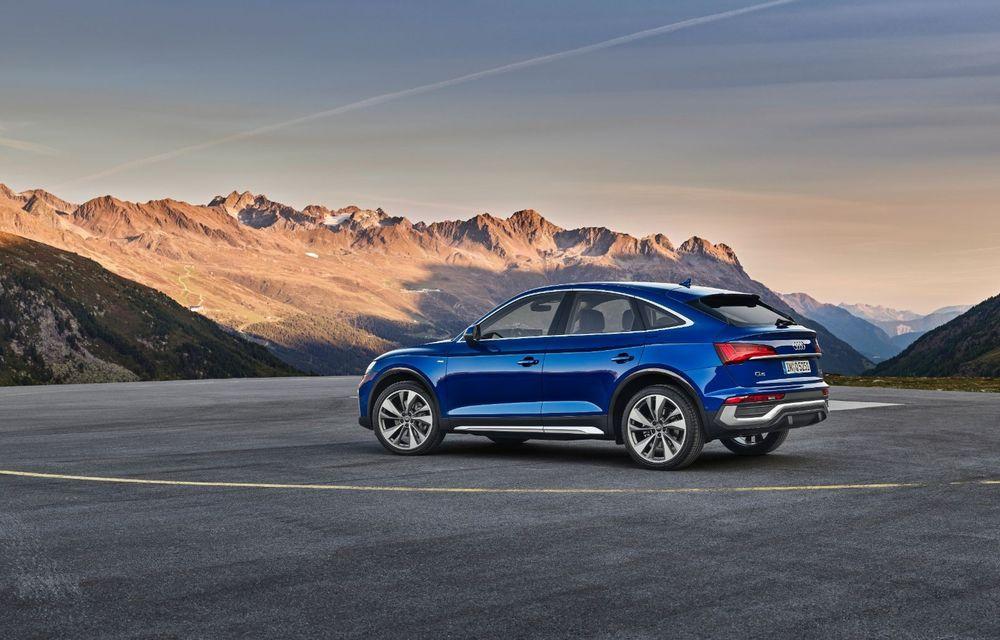 """Mașinile din """"Aventour la feminin"""" by Textar: Audi Q5 Sportback, rețeta SUV-ului premium devine acum mai curajoasă - Poza 6"""