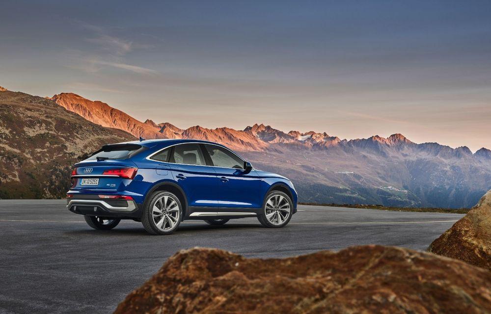 """Mașinile din """"Aventour la feminin"""" by Textar: Audi Q5 Sportback, rețeta SUV-ului premium devine acum mai curajoasă - Poza 7"""