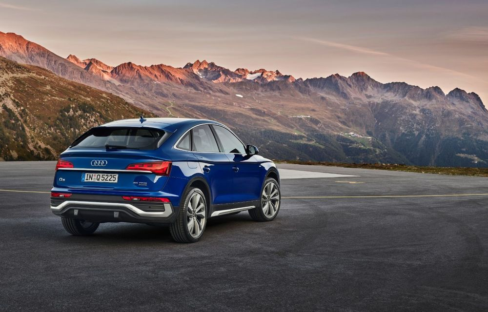 """Mașinile din """"Aventour la feminin"""" by Textar: Audi Q5 Sportback, rețeta SUV-ului premium devine acum mai curajoasă - Poza 8"""