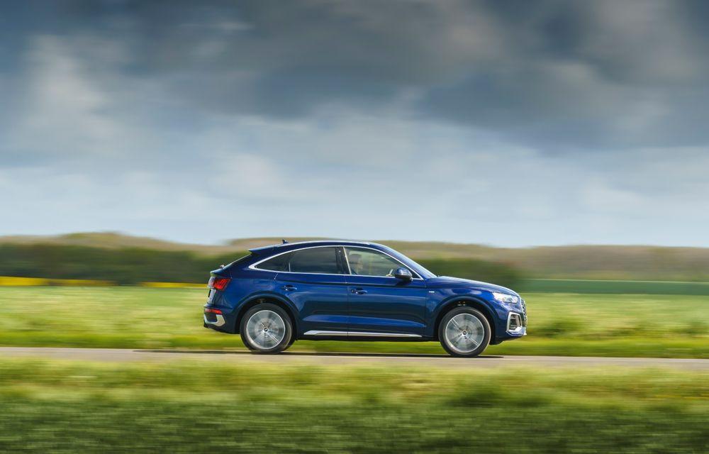 """Mașinile din """"Aventour la feminin"""" by Textar: Audi Q5 Sportback, rețeta SUV-ului premium devine acum mai curajoasă - Poza 11"""