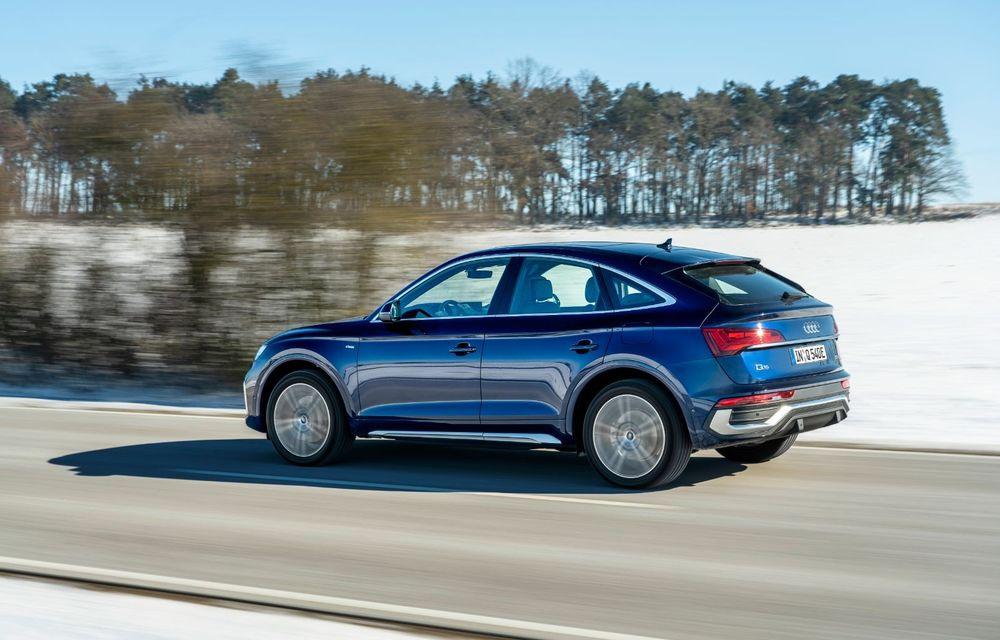 """Mașinile din """"Aventour la feminin"""" by Textar: Audi Q5 Sportback, rețeta SUV-ului premium devine acum mai curajoasă - Poza 9"""