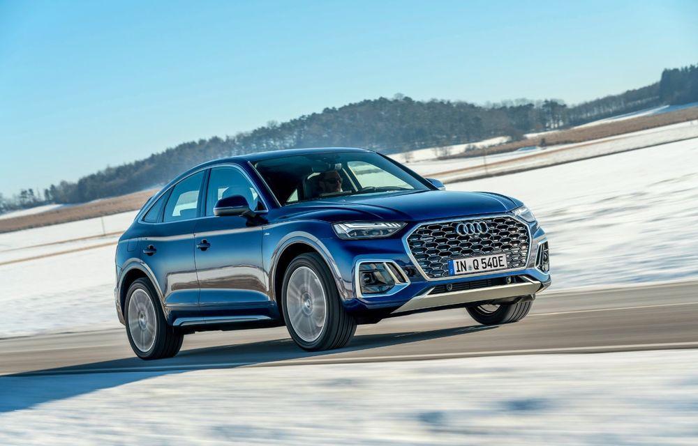 """Mașinile din """"Aventour la feminin"""" by Textar: Audi Q5 Sportback, rețeta SUV-ului premium devine acum mai curajoasă - Poza 4"""