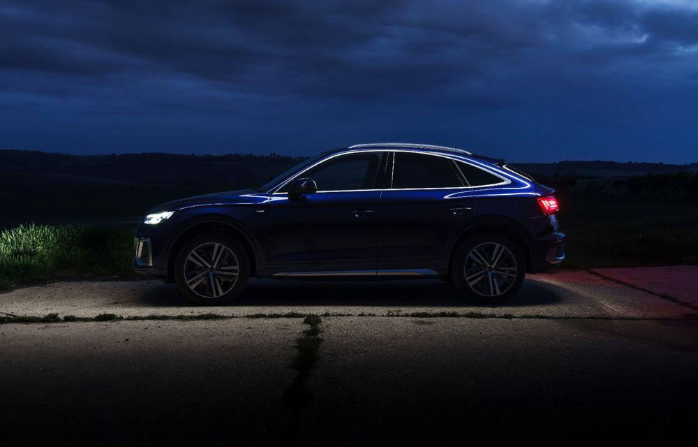 """Mașinile din """"Aventour la feminin"""" by Textar: Audi Q5 Sportback, rețeta SUV-ului premium devine acum mai curajoasă - Poza 12"""