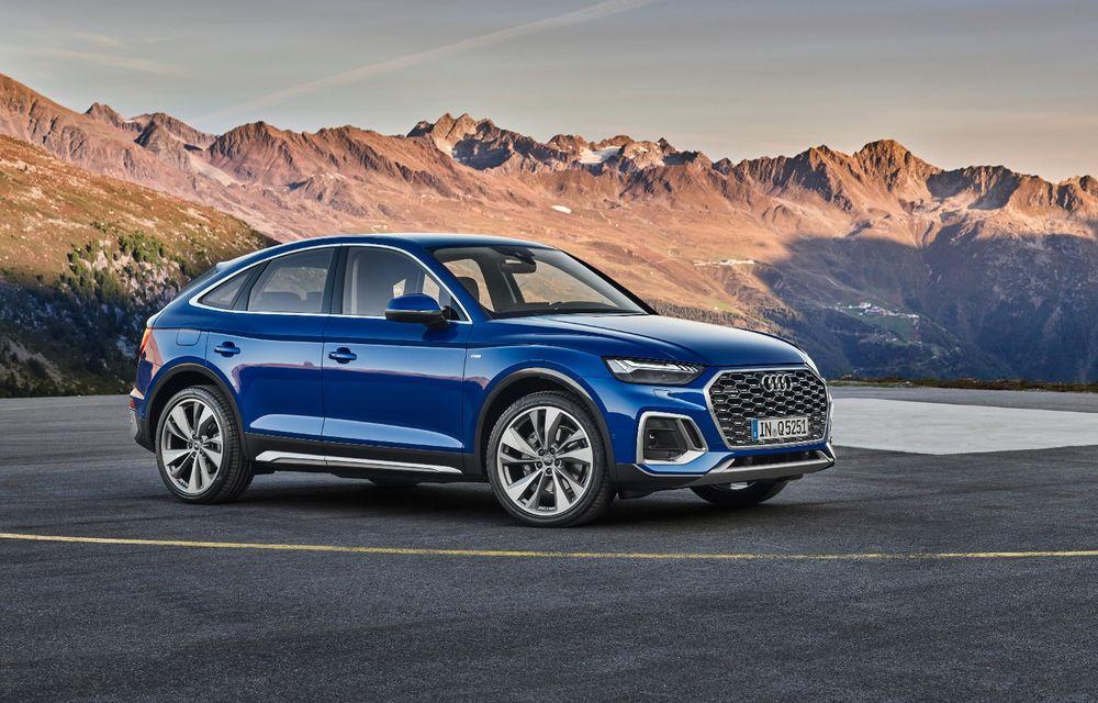 """Mașinile din """"Aventour la feminin"""" by Textar: Audi Q5 Sportback, rețeta SUV-ului premium devine acum mai curajoasă - Poza 1"""