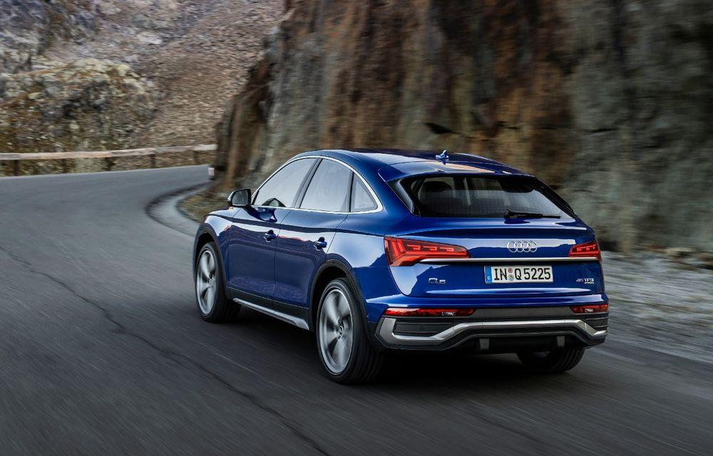 """Mașinile din """"Aventour la feminin"""" by Textar: Audi Q5 Sportback, rețeta SUV-ului premium devine acum mai curajoasă - Poza 5"""