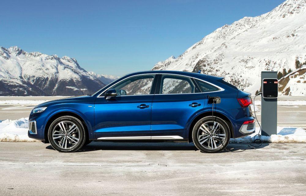 """Mașinile din """"Aventour la feminin"""" by Textar: Audi Q5 Sportback, rețeta SUV-ului premium devine acum mai curajoasă - Poza 10"""