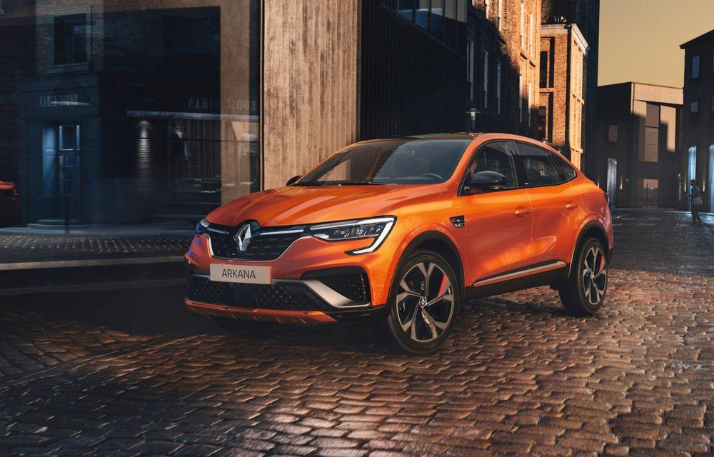 """Mașinile din """"Aventour la feminin"""" by Textar: Renault Arkana, un SUV coupe cu rol de pionier în segmentul său - Poza 1"""