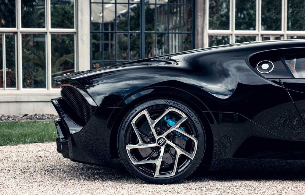 Bugatti a finalizat La Voiture Noire. Exemplarul unicat a costat 11 milioane de euro - Poza 16
