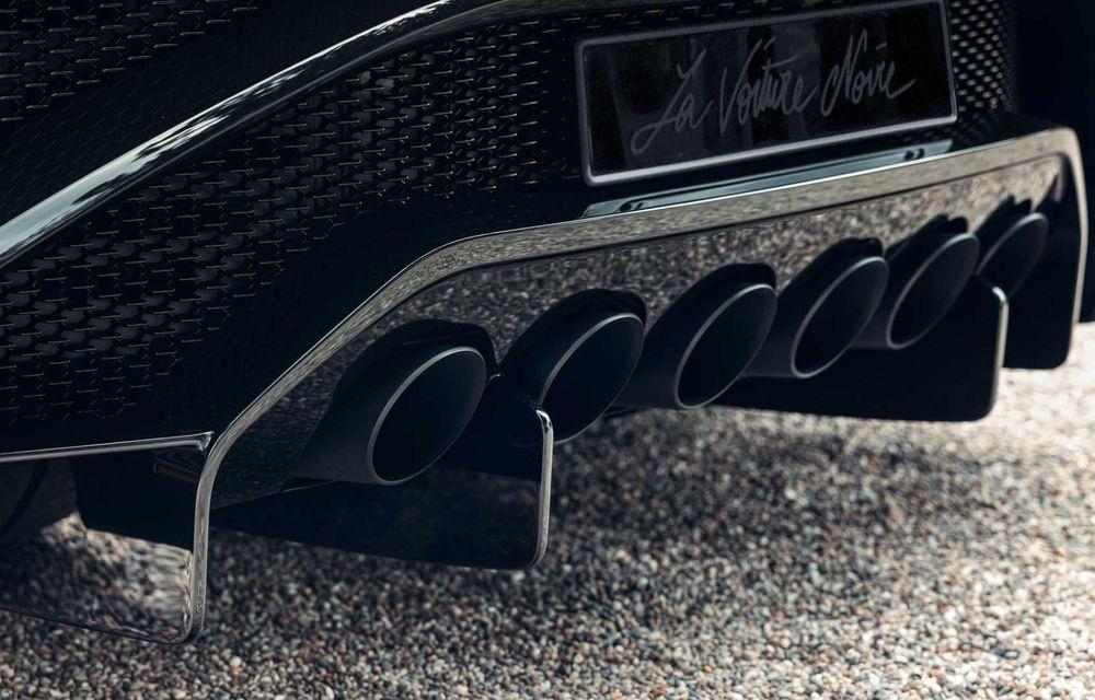 Bugatti a finalizat La Voiture Noire. Exemplarul unicat a costat 11 milioane de euro - Poza 17