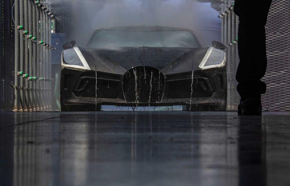 Bugatti a finalizat La Voiture Noire. Exemplarul unicat a costat 11 milioane de euro - Poza 20