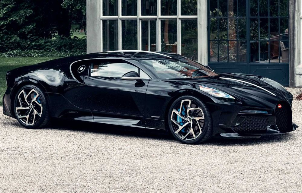 Bugatti a finalizat La Voiture Noire. Exemplarul unicat a costat 11 milioane de euro - Poza 6