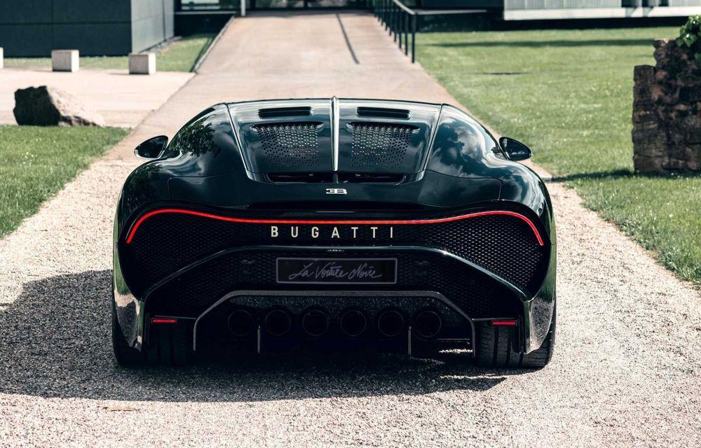 Bugatti a finalizat La Voiture Noire. Exemplarul unicat a costat 11 milioane de euro - Poza 10
