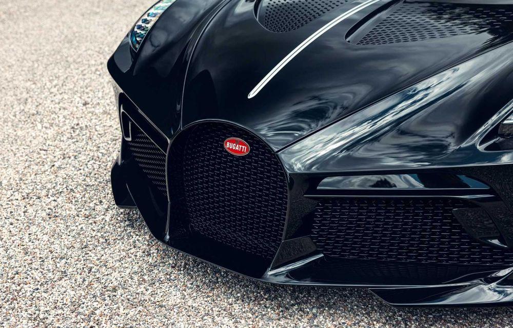 Bugatti a finalizat La Voiture Noire. Exemplarul unicat a costat 11 milioane de euro - Poza 13
