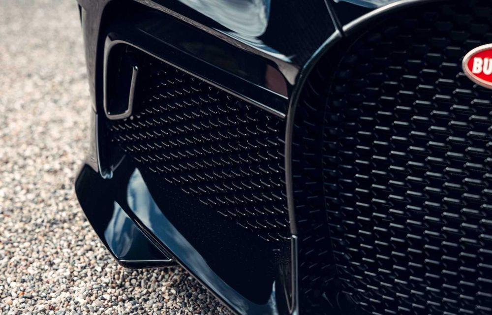 Bugatti a finalizat La Voiture Noire. Exemplarul unicat a costat 11 milioane de euro - Poza 14