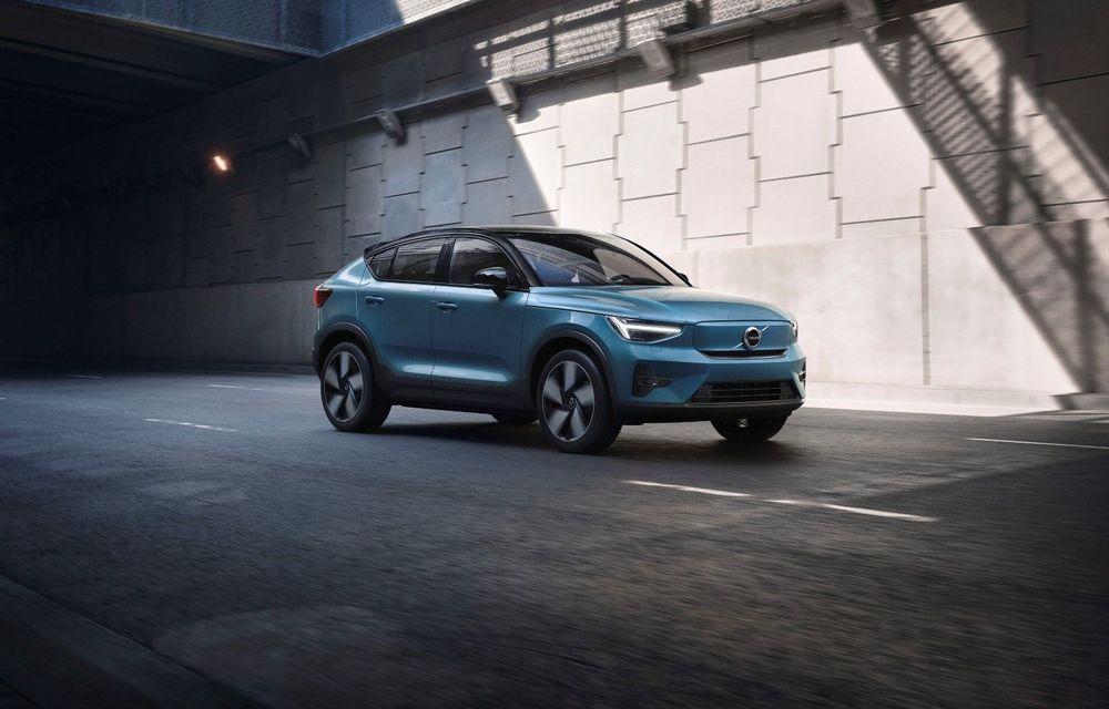 Volvo a deschis comenzile pentru SUV-ul electric C40 Recharge: producția începe în toamnă - Poza 1