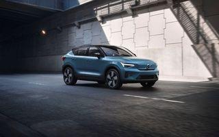 Volvo a deschis comenzile pentru SUV-ul electric C40 Recharge: producția începe în toamnă